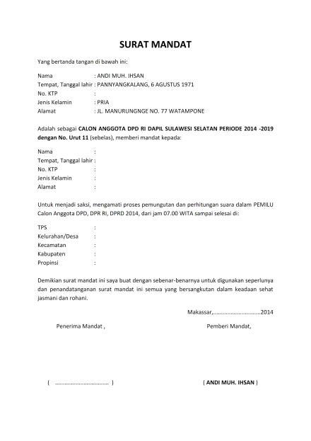 Bagi anda yang sedang membutuhkan contoh surat mandat dari mabigus dalam rangka kegiatan pramuka, bisa didownload melalui link di akhir postingan. Contoh Surat Mandat - Guru Paud
