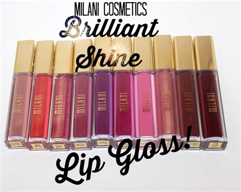 milani brilliant shine lip gloss give super