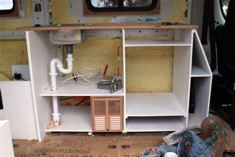 promaster camper van conversion installing