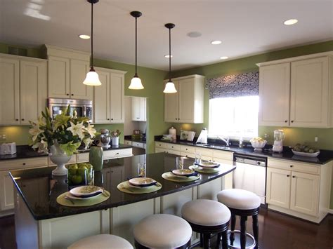 Kitchen Model Home Kitchens Excellent White Rectangle