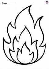 Fire Coloring Printable Teachersmag Flame Safety Template Sheets Wings Prevention Drawing Hydrant Crafts Craft Printables Inspirations Extinguisher sketch template