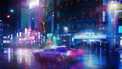 Cyberpunk 4k Neon Wallpapers 5k Artwork Ride