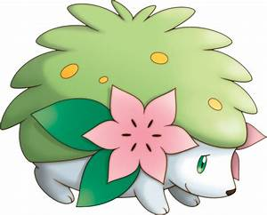 shaymin pokemon iron on sticker heat transfer v02 p