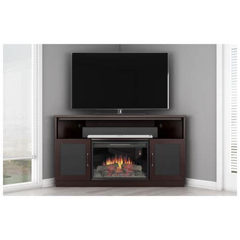 Small Corner Electric Fireplace Tv Stand Saomcco