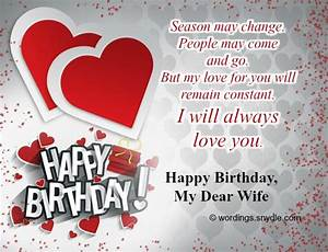 Sweet Images for Happy Birthday Message Wishes for My Wife ...
