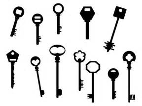 HD wallpapers key silhouette vector