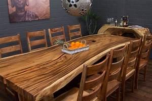Tisch 3 Meter : 3 meter massivholz esstisch aus suarholz baumscheibe ~ Indierocktalk.com Haus und Dekorationen
