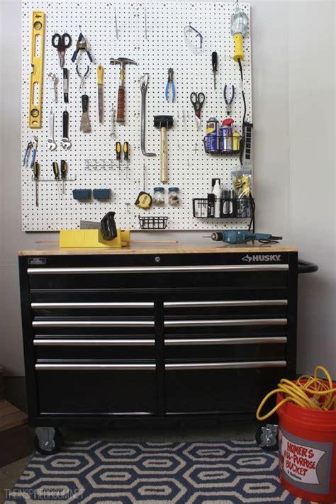 pegboard tool organization ideas 10 easy garage organizing diy ideas