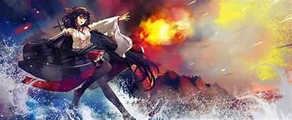 Anime Kancolle Kantai Haruna Wallpapers Desktop Background