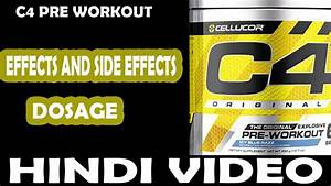 Is C4 Pre Workout Steroids