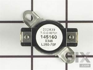 Oem Frigidaire Dryer High Limit Thermostat  3204267