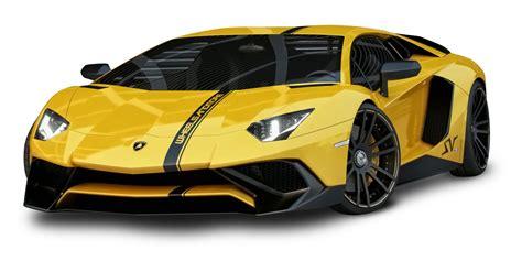 yellow lamborghini yellow lamborghini aventador car png image pngpix