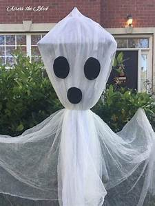 Easy, Lamp, Post, Ghost, For, Halloween