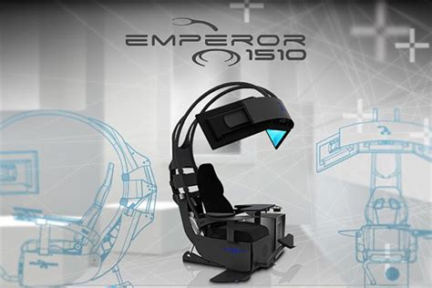 the emperor pc gaming chair gaming immersion overclockersuk launch infinity emperor