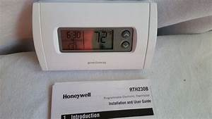 Honeywell Rth230b 5