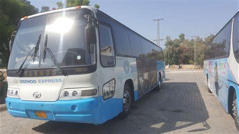 Daewoo Bus Service From Karachi To Larkana