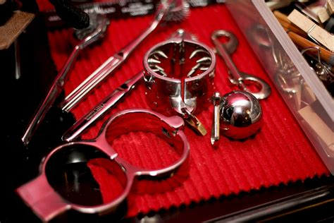 BDSM toys and equipment ~ London Mistress Alexandra Wildfire