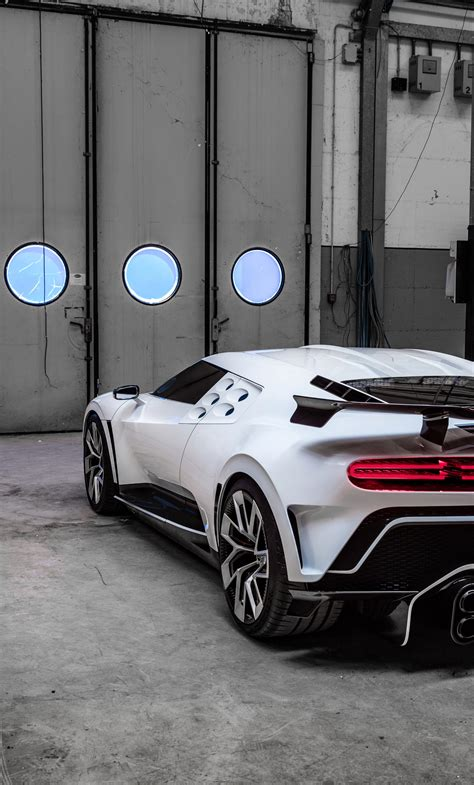 It joins the chiron sport, the 110 ans bugatti model that celebrates the company 110th. 1280x2120 Bugatti Centodieci 2020 Rear 8k iPhone 6+ HD 4k Wallpapers, Images, Backgrounds ...