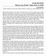 FREE 8+ Sample Movie Reviews in MS Word | PDF