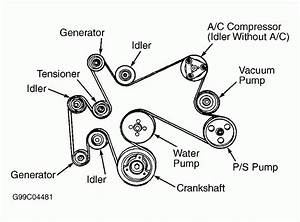 2004 Ford Explorer 4 6l Serpentine Belt Diagram