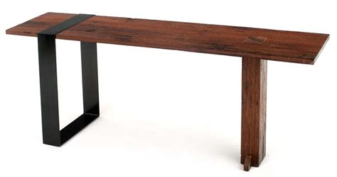 Modern Sofa Table by Contemporary Rustic Sofa Table Modern Wooden Console Table