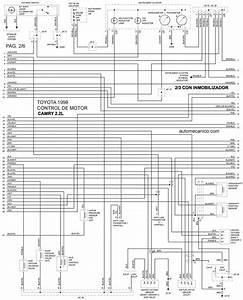 Diagrama De Motor Toyota Camry