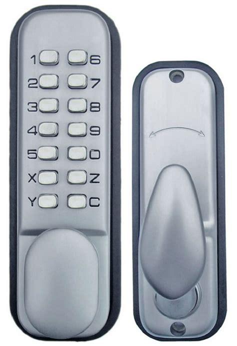 keypad door lock reviews all weather keypad mechanical keyless door lock by
