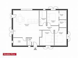 plan maison moderne pdf With plan de maison 100m2 0 plan de maison 100m2 avec garage idees novatrices de la