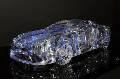 tokyo motor show  transparent acrylic lexus lfa