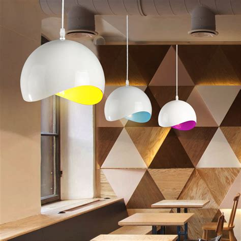 modern country retro eggshell pendant ceiling light