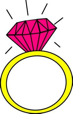 engagement ring cartoon clip art 9 engagement rings clipartix
