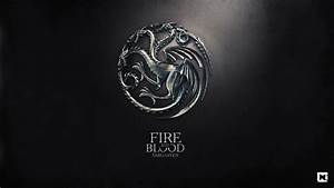 Fire and Blood Targaryen Game of Thrones Wallpaper - HD ...