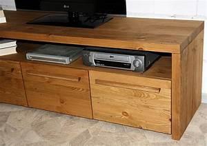 Möbel Boss Kommode : tv lowboard 150x50x45cm 3 t ren nordisches massivholz rustikal antik gebeizt gewachst ~ Orissabook.com Haus und Dekorationen