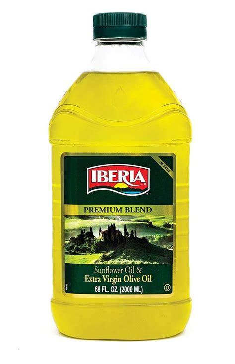 oil heat cooking frying iberia sunflower virgin purpose blend olive baking deep extra kosher spain oz fl