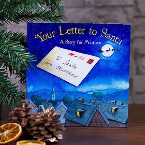 personalised christmas book your letter to santa buy With your letter to santa book