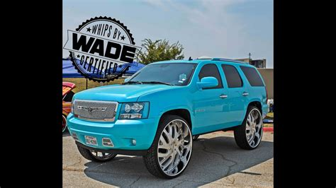 caddys customs outrageous tahoe   wheels youtube