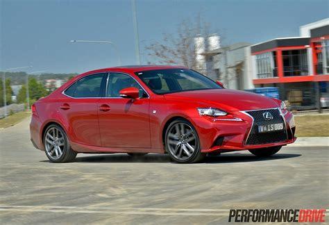custom lexus is 350 2014 2014 lexus is 350 f sport review video performancedrive