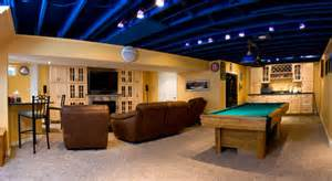 Best Drop Ceilings For Basement by The Painted Basement Ceiling Did You Prime It First