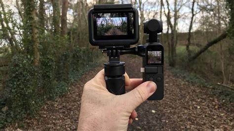 osmo pocket  gopro hero black hypersmooth camera jabber