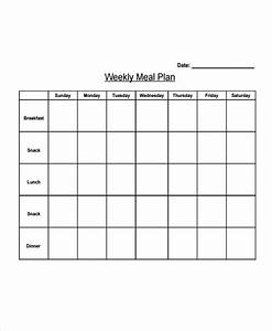 10  Diet Plan Templates