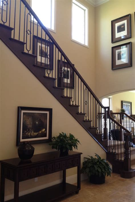 dark wood stair rails   home pinterest stairs