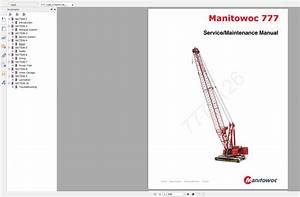Manitowoc Crawler Cranes Part Manual  Operator
