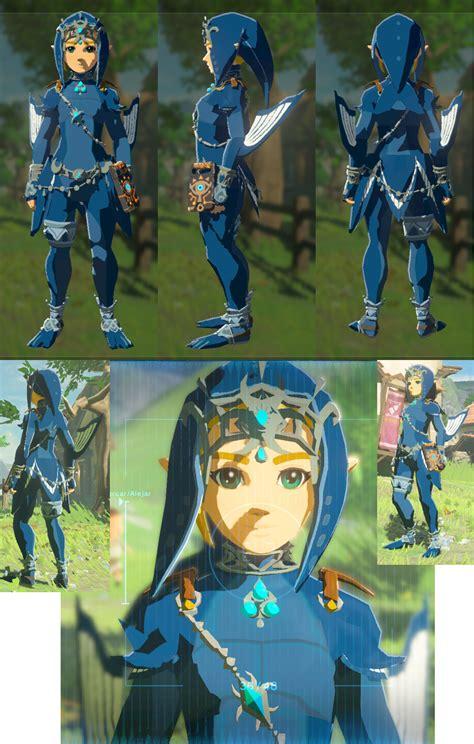 zeldas ballad zora armor switch  legend  zelda