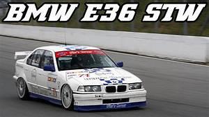 Bmw E36 318 Stw Test At Circuit Zolder 2012