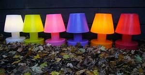 Lampe Anschließen 2 Kabel Ohne Farbe : lampe ohne kabel tragbar kabellos akku h 28 cm wei by bloom made in design ~ Orissabook.com Haus und Dekorationen