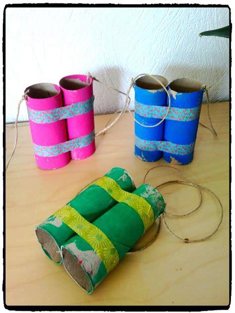 bricolage papier de toilette paires de jumelles rouleau d papier toilette voyage bricolage enfant diy rouleau papier wc