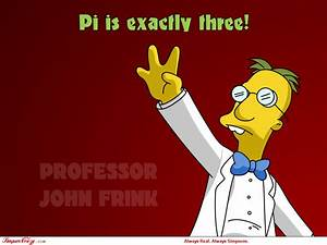 Simpsons charac... Prof Frink Quotes