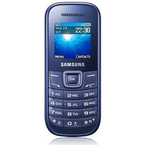 Phone Mobile by Samsung E1200 Bleu Indigo Mobile Smartphone Samsung
