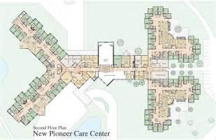 Floor Plans Second Floor Plan Pioneercare