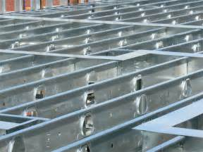 floor ceiling steel framing